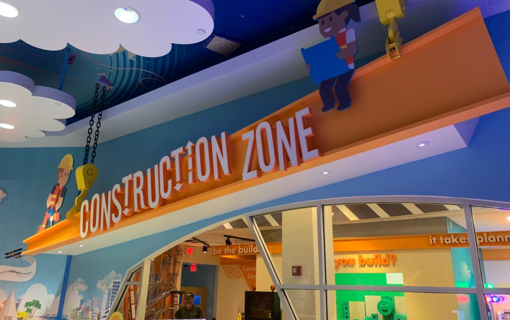 Miami Children's Museum Construction Zone