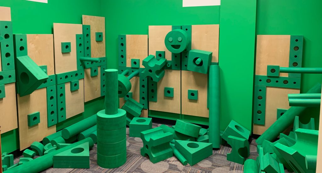 Green Blocks at Miami Children's Museum